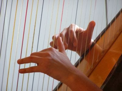 tocando-arpa